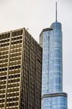 Chicago Highrise buildings Royalty Free Stock Photos