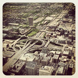Chicago Highway Royalty Free Stock Photography