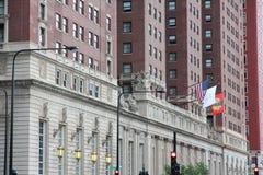 Chicago Hilton lizenzfreies stockbild