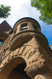 Chicago Historic Home. Architecture detail of a Chicago historic home Royalty Free Stock Images