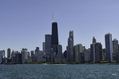 chicago horisont Fotografering för Bildbyråer