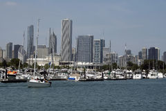 chicago horisont Royaltyfri Bild