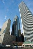 Chicago horisont Arkivbild