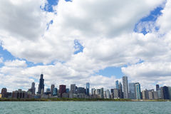 Chicago horisont Royaltyfri Fotografi