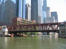 Chicago horisont Royaltyfri Bild