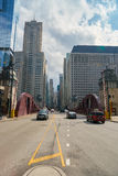 Chicago. IL - CIRCA MARCH, 2016:  downtown in the daytime.  is the third most populous city in the United States Stock Photo