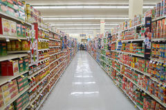 Jewel-Osco. CHICAGO, IL - CIRCA MARCH, 2016: inside Jewel-Osco store. Jewel-Osco is a supermarket chain headquartered in Itasca, Illinois, a Chicago suburb Stock Photography