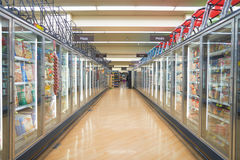 Jewel-Osco. CHICAGO, IL - CIRCA MARCH, 2016: inside Jewel-Osco store. Jewel-Osco is a supermarket chain headquartered in Itasca, Illinois, a Chicago suburb Royalty Free Stock Image