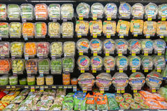 Jewel-Osco. CHICAGO, IL - CIRCA MARCH, 2016: inside Jewel-Osco store. Jewel-Osco is a supermarket chain headquartered in Itasca, Illinois, a Chicago suburb Royalty Free Stock Photos