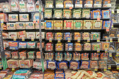 Jewel-Osco. CHICAGO, IL - CIRCA MARCH, 2016: inside Jewel-Osco store. Jewel-Osco is a supermarket chain headquartered in Itasca, Illinois, a Chicago suburb Stock Photo