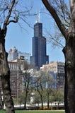 Chicago, IL 5 de maio de 2018: Willis Tower Fotografia de Stock