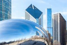 Chicago il fagiolo Fotografia Stock