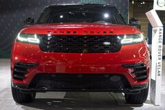 Range Rover SUV the annual International auto-show, February 9, 2019 in Chicago, IL