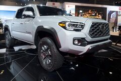 Toyota Tacoma 2019 at the annual International auto-show, February 9, 2019 in Chicago, IL