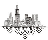 Chicago, IL Skyline Stock Images