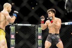 Cejudo vs Moraes at UFC 238 stock image