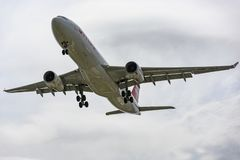 Swiss Airlines Airbus A330 royalty free stock photography