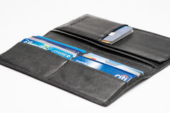 Free Chicago,IL,USA,Feb-12,2017,Close Up Of An Open Wallet With Credit Cards With Chase,Chase Disney,Citi Simplicity And Master Card Lo Stock Photos - 91886643