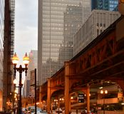 Chicago, Ilinois. Always beautiful and colorful Chicago Stock Photography