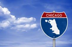 Chicago in Illinois Stock Fotografie