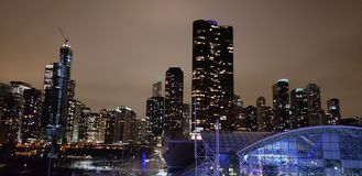 Chicago Illinois stock afbeelding