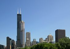 chicago illinois Royaltyfri Fotografi
