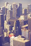 Chicago Illinois antenn Royaltyfri Bild