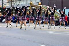 Chicago, Illinois, EUA: novembro 23,2017: Dia Parad da ação de graças Fotografia de Stock Royalty Free
