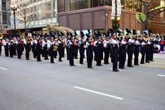 Chicago, Illinois, EUA: novembro 23,2017: Parada miliampère da ação de graças Fotografia de Stock Royalty Free