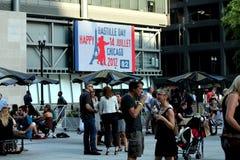 CHICAGO, ILLINOIS JULI 2012 Stockfotos