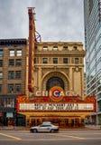 CHICAGO ILLINOIS, LIPIEC, - 04: Chicagowski teatr Otwierający w 1921, Obrazy Stock