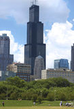 chicago illinois Sears Tower willis Arkivfoto
