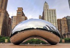Chicago, Illinois Cloud Gate royalty free stock photo
