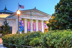 Shedd Aquarium in Chicago, Illinois. Chicago, Illinois, USA - June 22, 2018 - Shedd Aquarium, the largest indoor aquarium in the world opened in 1930, and royalty free stock image