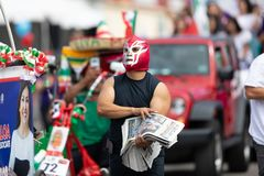 Mexican Independence Parade royalty free stock photography