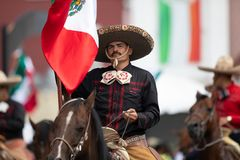 Mexican Independence Parade stock photography
