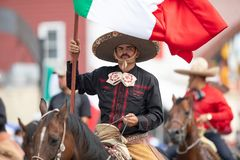 Mexican Independence Parade royalty free stock image