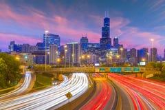 Chicago, Illinois, USA Skyline stock images