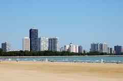 Chicago im Norden Stockbild