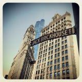 Chicago Jack Brickhouse way sign Royalty Free Stock Photos