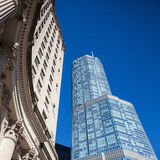 CHICAGO - JUNE 11: The Trump Tower on June 11, 2013 in Chicago. Royalty Free Stock Image