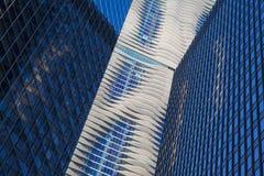 CHICAGO - JUNI 7: Aqua Tower op 7 Juni, 2013 in Chicago. The stock foto's