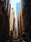 Chicago kanaler, Illinois, USA Arkivfoto