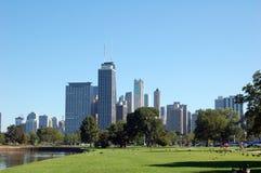 chicago krajobraz Zdjęcia Royalty Free