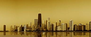 chicago kustguld Arkivbilder