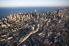 Chicago, l'Illinois. Image libre de droits