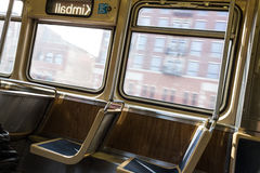 Chicago L ligne de Brown images libres de droits
