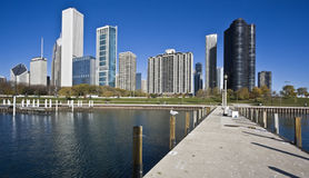 Chicago from the Lake Royalty Free Stock Photo