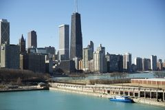 Chicago Lake Front Royalty Free Stock Photo