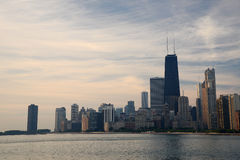 Chicago lake shore Royalty Free Stock Image
